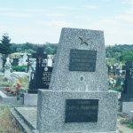 Szovjet katona sírja a temetőben